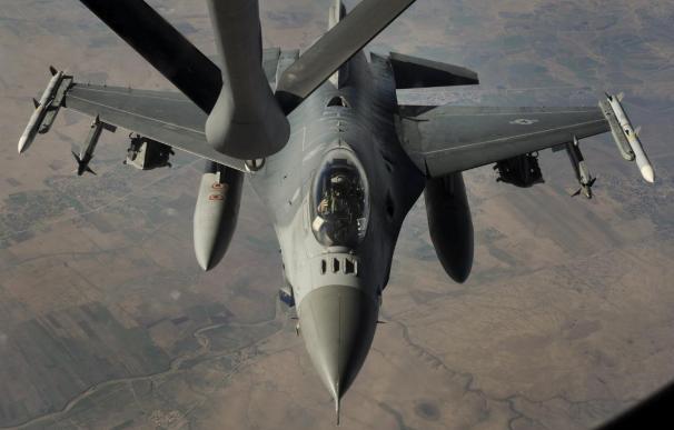 La coalición lanza trece bombardeos contra el Estado Islámico en Siria e Irak