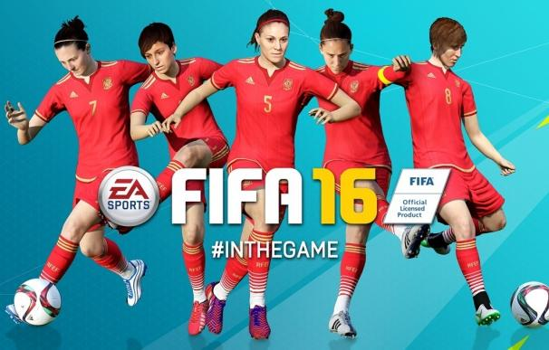 España y otras 11 selecciones 'saltan' al campo en el videojuego EA Sports FIFA 16