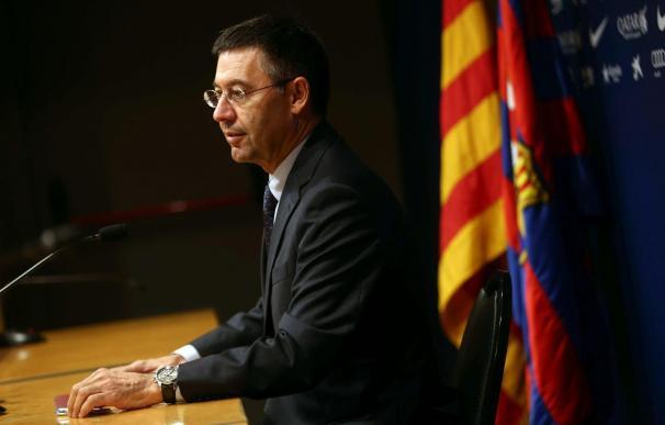 """Bartomeu considera que se ha cometido """"una injusticia"""" al sancionar al Barça"""