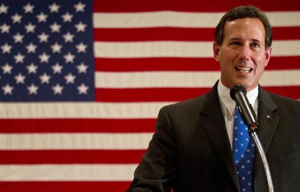 Santorum encuentra poco consuelo en Pensilvania, su estado natal