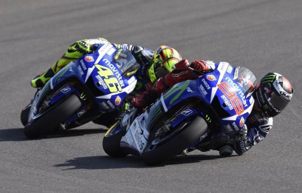 "Rossi: ""Siempre es difícil enfrentarse a Lorenzo"""
