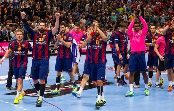 El Barça de balonmano, campeón de Europa
