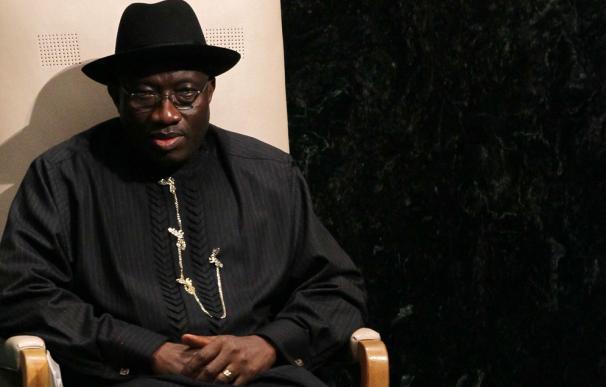 El presidente de Nigeria, Goodluck Jonathan