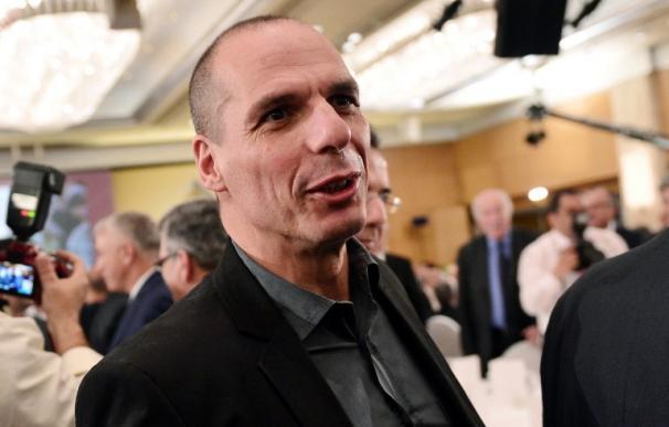 El ministro de Finanzas de Grecia, Yanis Varoufakis.