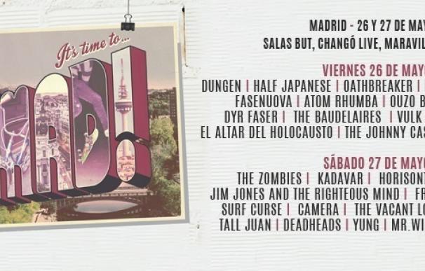 The Zombies, Jim Jones, Kadavar y más de 30 bandas tocarán en el festival GetMad en cuatro salas de Madrid