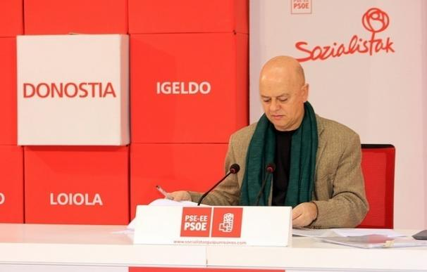 """Elorza pide """"cohesión"""" en el PSOE y cree que el gesto de Javier Fernández es """"muy positivo"""""""