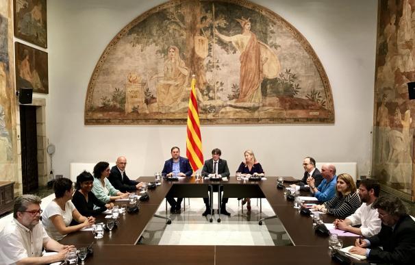 """El Govern ve en """"vía muerta"""" negociar con Rajoy e inicia los pasos para convocar un referéndum"""