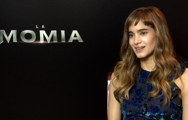 """Sofía Boutella, protagoniza La Momia: """"Si una mujer se enfada, da mucho más miedo que un hombre"""""""