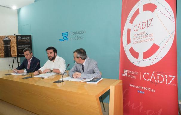 Diputación y Universidad de Cádiz fomentan la investigación sobre el Tricentenario