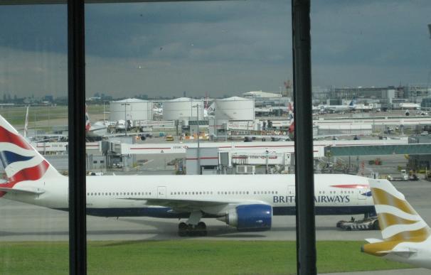 British Airways pretende operar este lunes la totalidad de sus vuelos de larga distancia desde Heathrow