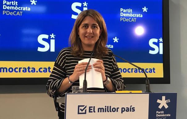 """El PDeCAT acusa a Cs de apuntalar al Gobierno y las """"cloacas del Estado"""""""