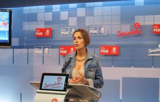 """Chivite dice, sobre la moción de censura, que Pedro Sánchez """"no va a participar de la política populista"""" de Podemos"""
