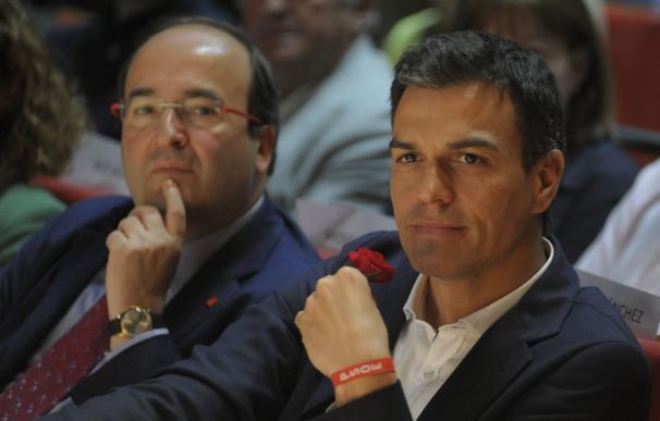 Iceta y Sánchez se reúnen este lunes en Ferraz para abordar el proceso soberanista