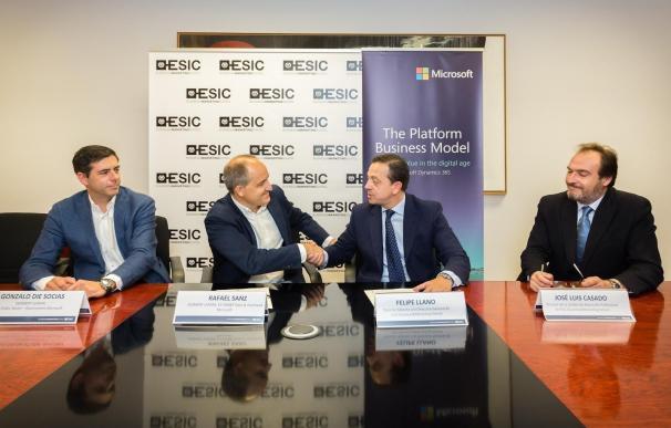 Microsoft y ESIC se unen para mejorar la formación tecnológica y la empleabilidad