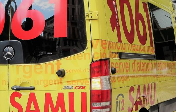 Herido en Ibiza un motorista tras chocar con un vehículo en la avenida Pedro Matutes Noguera