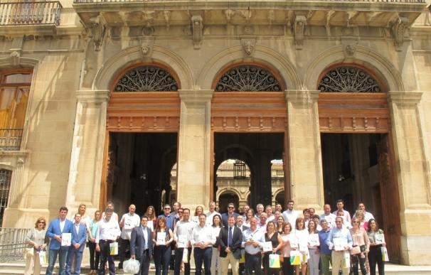 Un total de 26 empresas recibe el sello Degusta Jaén Calidad que otorga la Diputación