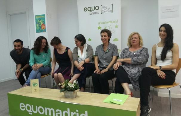 Equo impulsa mociones para visibilizar y apoyar a las 300.000 madrileñas que padecen endometriosis
