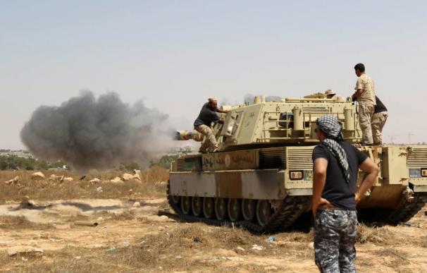 Las fuerzas libias entran en Sirte y empiezan a echar a los yihadistas de su feudo