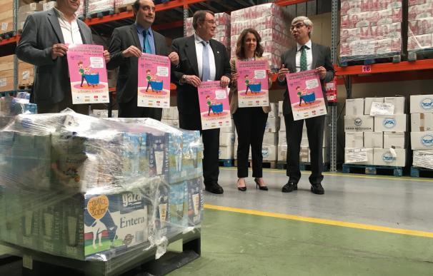 Banco de Alimentos aspira a recoger 89.000 kilos de productos para cubrir necesidades de 17.000 personas en Valladolid