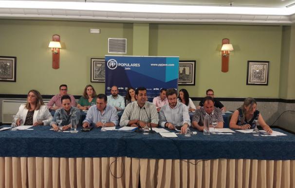 Requena preside su primer comité ejecutivo con el objetivo de sentar las bases del futuro del PP de Jaén