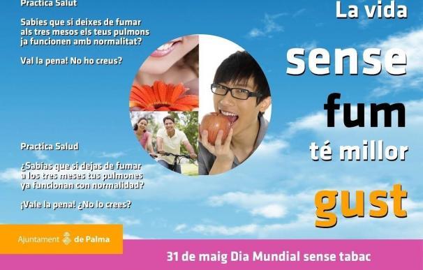 Cort montará este miércoles una mesa informativa en la plaza del Tubo con motivo del Día Mundial sin Tabaco