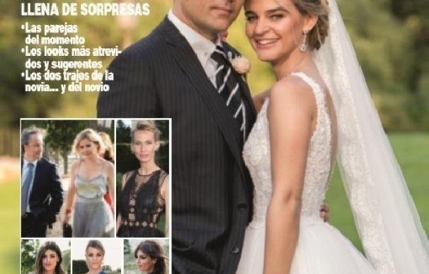 Todos los detalles de la boda de Risto y Laura en la revista HOLA!