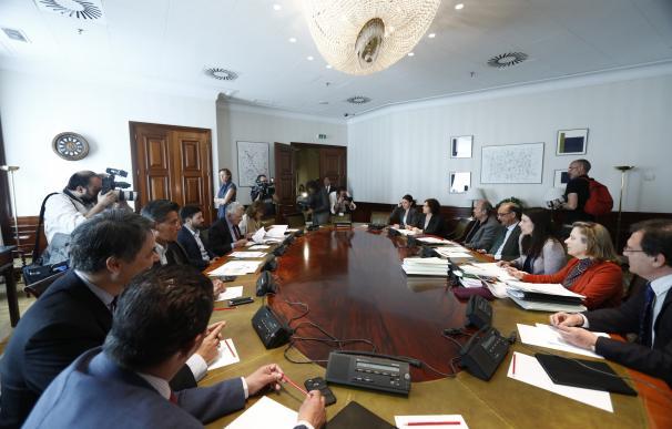 PSOE, Podemos, ERC, PDeCAT y PNV piden un nuevo Pleno del Congreso para prorrogar la comisión de Fernández Díaz