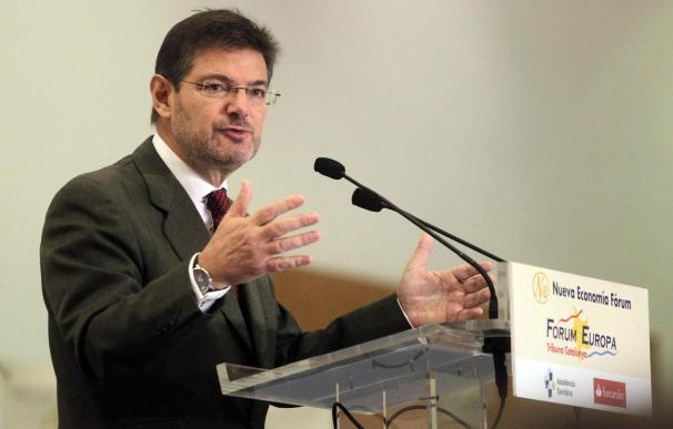 Catalá y Gordó muestran sus diferencias en las reformas judiciales sin tratar el 9N