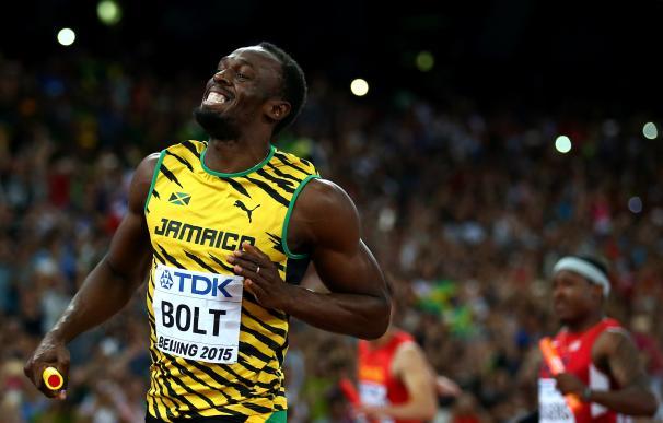 Usain Bolt se lesiona tras su primera carrera de la temporada