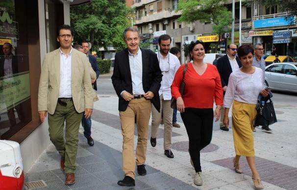 """Zapatero niega que el """"aparato"""" pueda influir a favor de Díaz y descarta ruptura en el PSOE """"por los vínculos afectivos"""""""