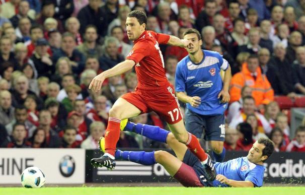 Maxi Rodríguez, elegido por los aficionados del Liverpool el mejor jugador de la jornada