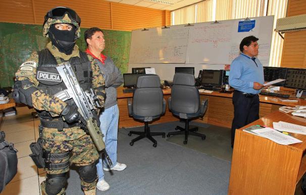 Calma en las filiales de Iberdrola custodiadas por la policía en Bolivia