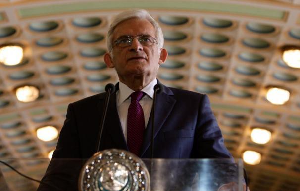 El presidente del Parlamento Europeo pide que no se olvide Chernóbil