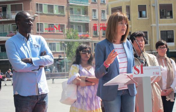 """Mendia dice que """"solo Sánchez hizo propuestas y demostró que tiene una alternativa clara para echar a Rajoy"""""""