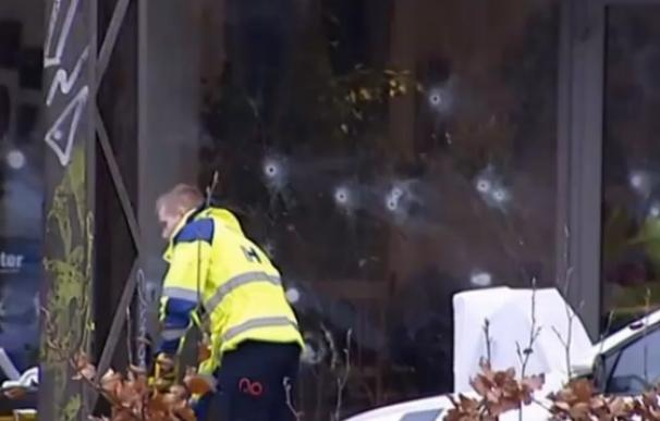 Confirmado un civil fallecido en el ataque contra el café cultural de Copenhague