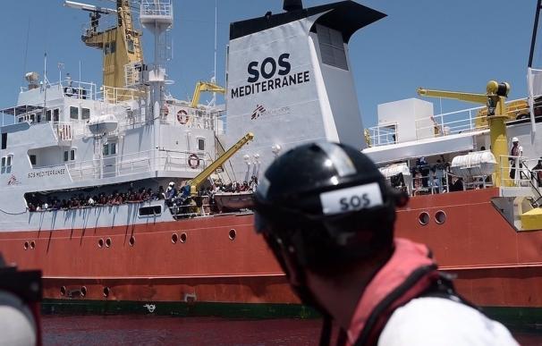 Unos 2.300 inmigrantes rescatados en un solo día en el mar Mediterráneo