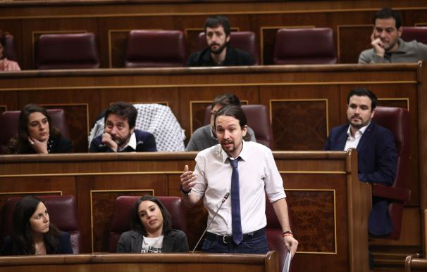 La Mesa del Congreso califica mañana la moción de censura de Podemos y abre plazo por si hay otros candidatos