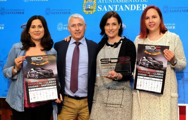Unos 150 vehículos participarán en Superdeportivos 2017 y harán un desfile por las calle de Santander