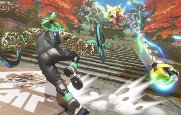 Nintendo vuelve al ring de los juegos de lucha con ARMS en exclusiva para Switch