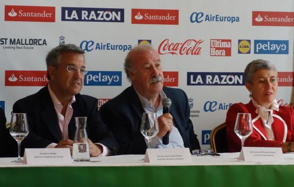 """Del Bosque: """"La final es el momento de los equipos por encima de las individualidades"""""""