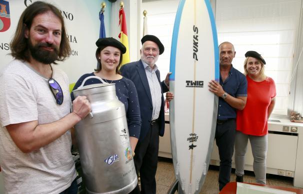 La Vaca Gigante será la primera competición mixta de surf de olas grandes del mundo