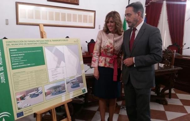La Junta licitará a finales de 2017 las obras para la construcción de un apeadero de autobús en Montoro