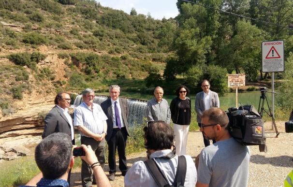 El Salto de Bierge verá limitado el acceso de turistas y usuarios