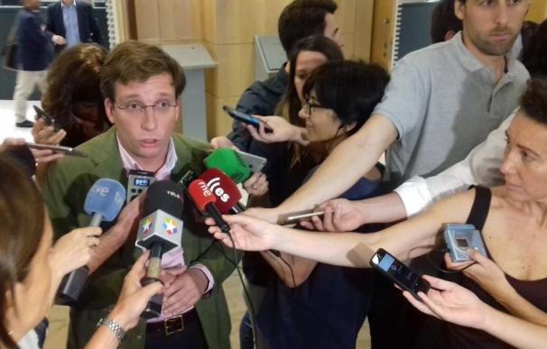 """PP rompe con Ahora Madrid en el Ayuntamiento de la capital por acusarle de """"meter la mano en la cartera"""""""