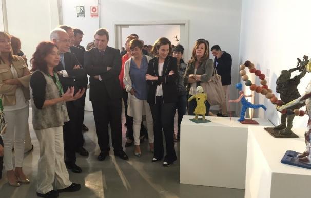 Sculto convierte la Plaza de Abascos en una galería de escultura