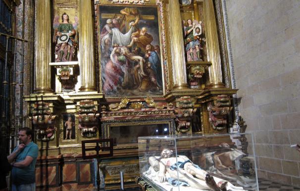 La Catedral de Segovia destina unos 137.000 euros a restaurar la capilla del Cristo Yacente