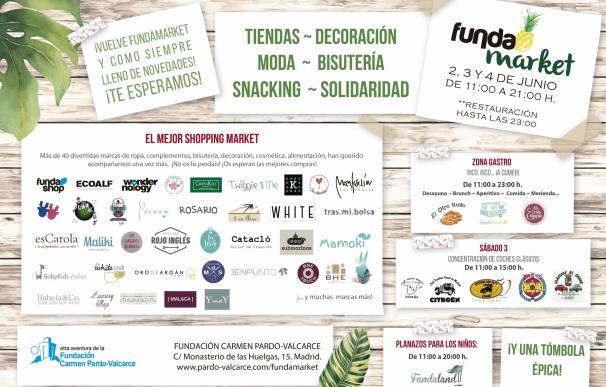 Fundación Carmen Pardo-Valcarce realiza en junio su mercadillo solidario con productos de personas con discapacidad