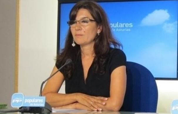 """Rodríguez Maniega se muestra preocupada por """"cómo va a sentar en Avilés"""" la gestora creada por el PP de Asturias"""