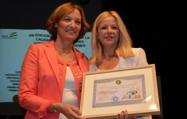 'Poniente de Granada' premia el diseño de los aceites de Abades