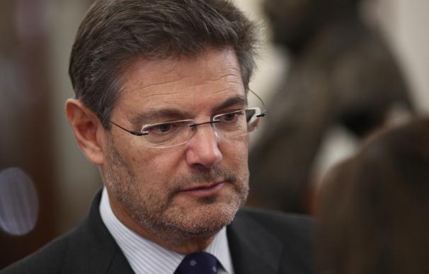 """Catalá: """"Es al fiscal general del Estado al que corresponde en su caso proponer un expediente para remover a Moix"""""""
